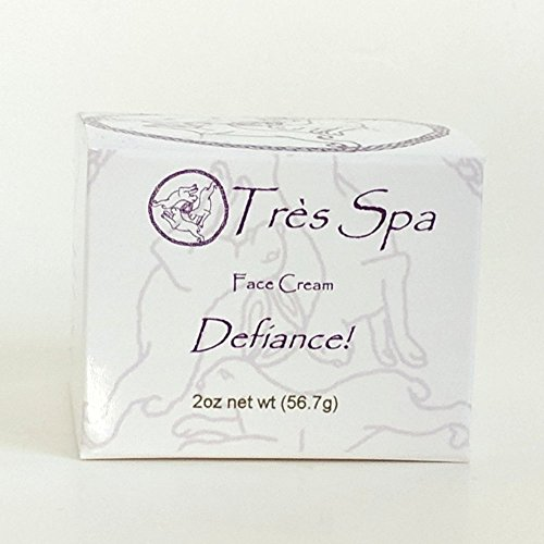 Très Spa Defiance Face Cream   Pure Plant Power to Defy Aging with Nourishing Botanical Oils   Vegan Friendly