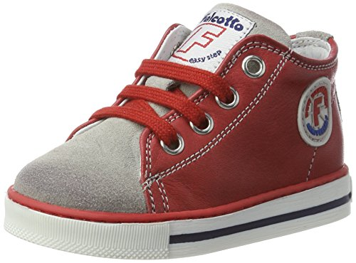 Falcotto Falcotto Magic - Botas de senderismo Bebé-Niñas rojo (rojo)