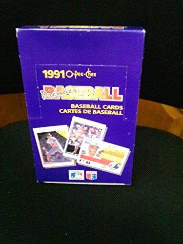 1991 Premier O-Pee-Chee Baseball Cards Un-opened Box of 36 packs
