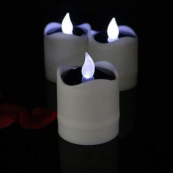 Amazon.com: ADAHX - Velas LED con vela, luz solar ...