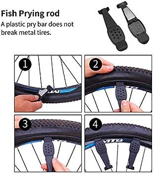 NEW Bike Repair Kit With Pump Portable Multi MTB Cycling Puncture Set Tool UK