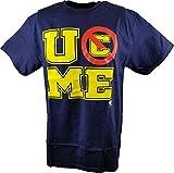 Freeze John Cena U Can't See Me WWE Mens Navy Blue T-Shirt-XL