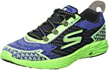 Cheap Skechers Men's GOrun 5 Nite Owl Running Shoe,Blue/Green,US 9.5 M