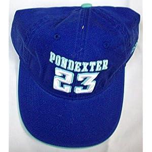 WNBA New York Liberty Cappie Pondexter 23 Adidas Strap Hat-OSFA-EB56Z