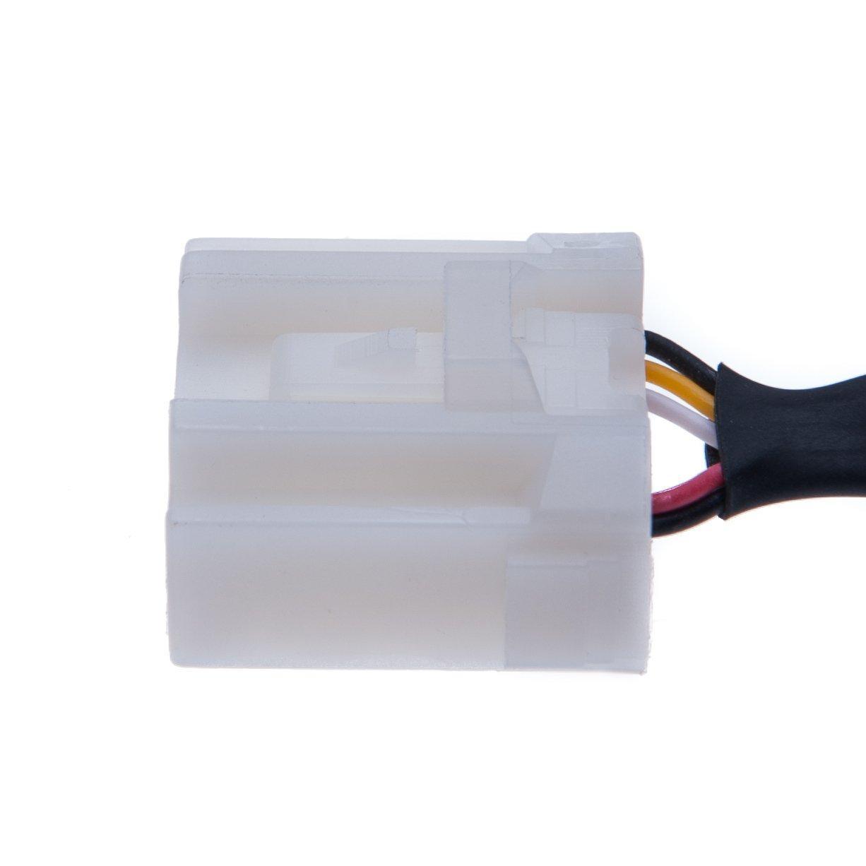 Keple Mazda m/úsica interfaz AUX-in 3.5/mm Lead adaptador MP3/Cable para conectar tel/éfono//reproductor de mp3/con votre coche Mazda RX8/2006/-2013