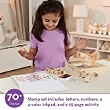Melissa & Doug Deluxe Letters and Numbers Wooden