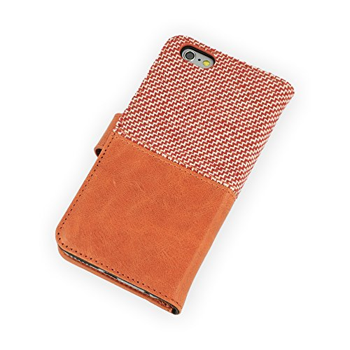 QIOTTI Q. Book Style Coque pour Apple iPhone 6 – Rouge marches