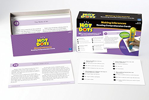 Educational Insights Hot Dots Reading Comprehension- Making Inferences