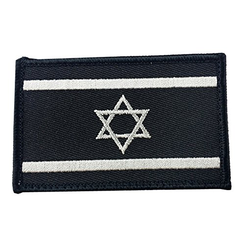 RoseSummer Israel Flag Tactical Army Morale Military Swat Patch Embroidered Applique Iron on Patches DIY Sew - Diy Shirt Flag