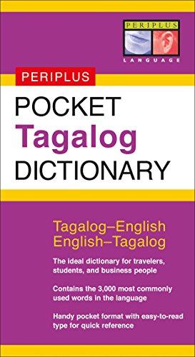 !B.e.s.t Pocket Tagalog Dictionary: Tagalog-English English-Tagalog (Periplus Pocket Dictionaries) TXT