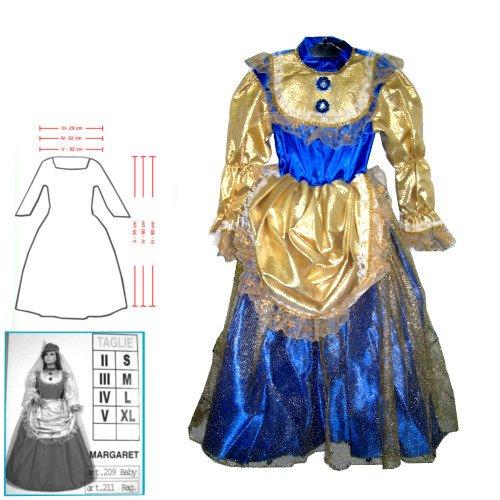 Costume Margaret Baby Vestito Carnevale Veneziano