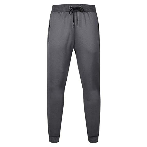 Heetey - Pantalones de chándal para Hombre, con diseño de la Letra ...