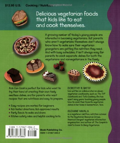 Kids Can Cook: Vegetarian Recipes Kitchen-Tested by Kids for Kids by Book Publishing Company (TN) (Image #1)