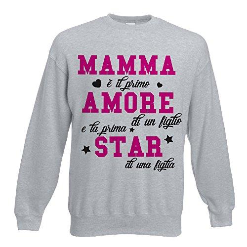 Idea Unisex Grigia Star Amore Della Regalo Felpa Festa Mamma Babloo atqz5wB