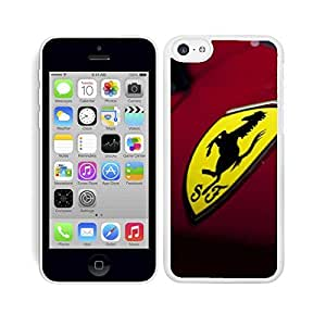 HARD CASE COVER FITS IPHONE 5C CAR LOGO MOD.5 WHITE by ruishername