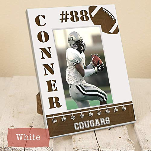 Personalized Football Player Picture Frame - Sports Frame for Athlete -  High School Football Picture Frame - Youth Football Picture Frame - Gift  for Sports ... 1aa8d4eaa