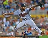 Autographed Julio Teheran 8x10 Atlanta Braves Photo