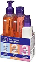 Experience clearer, healthier-looking skin with this Clean & Clear Daily Skincare Essentials set. Designed for easy acne-prone skin care, this 3-step routine will help keep acne under control and skin looking clear. Begin with the Clean &...