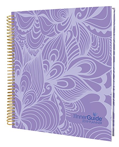 InnerGuide 2019 Goal & Life Planner, Weekly & Monthly Organizer, Appointment Book & Journal, Jan – Dec (Hard Cover)
