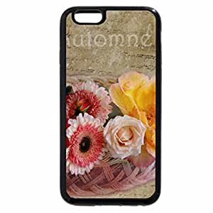 iPhone 6S / iPhone 6 Case (Black) Beautiful colors of flowers