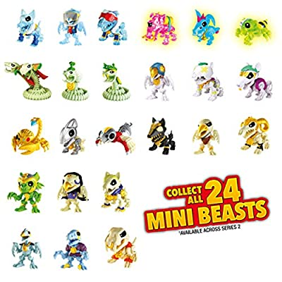 TREASURE X 41512 Dragons Gold Mini Beast Pack-Styles Vary, Multi: Toys & Games
