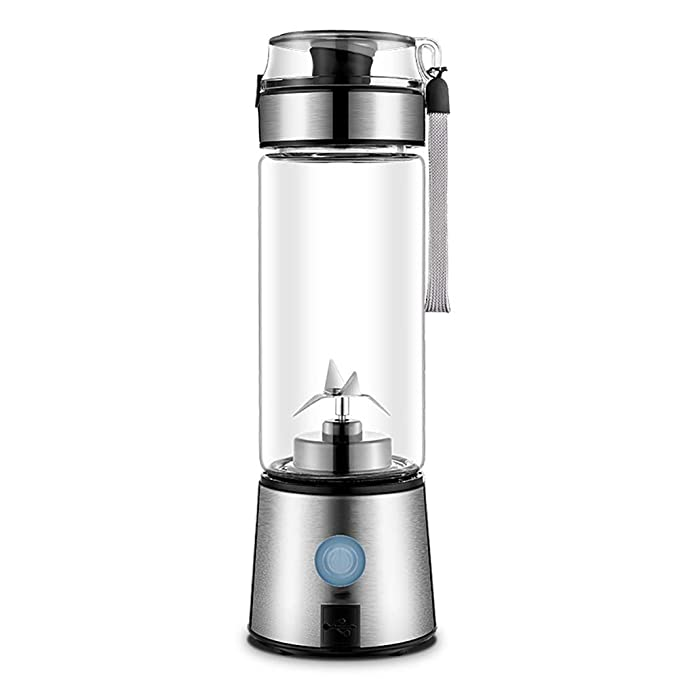 BSJZ Multi Function Blender with 380ml Juice Cup Personal Blender for Traveling Waterproof and Washable Small and Light to Carry Around with You