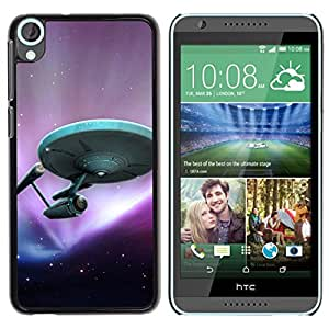 Impact Case Cover with Art Pattern Designs FOR HTC Desire 820 StarTrek Ship Betty shop