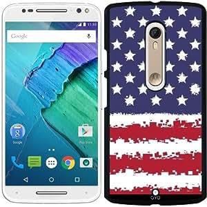 Funda para Motorola Moto X Style - Estados Unidos En 8 Bits by Cadellin