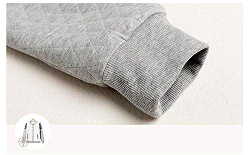 Neueste Männer Langarm Baumwolle Pyjama Morgenmantel Winter Nachtwäsche, die draußen getragen werden kann