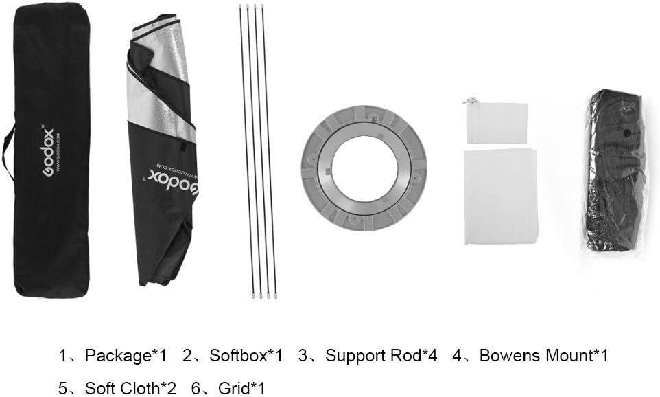 Godox Grid Softbox Strip Softbox Strip Box 35x160cm Kamera