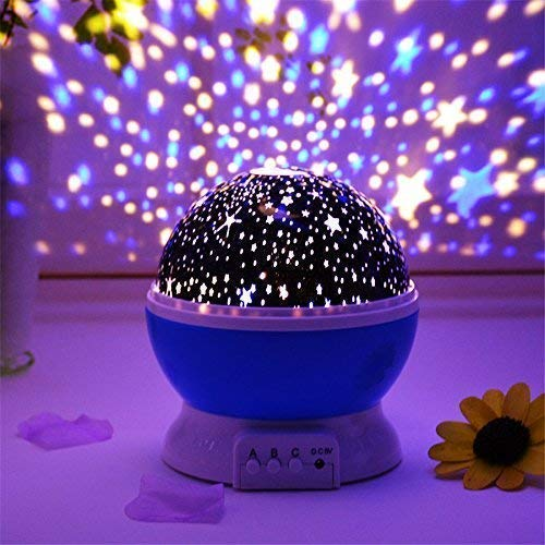 Store अपना-Night Light Lamps for Bedroom Romantic Sky Star Master Projector for Kids Bedroom with 360 Degree Rotating 4…
