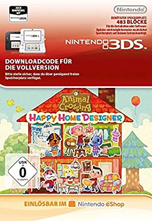 Animal Crossing: Happy Home Designer [3DS Download Code]