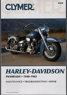 1948-1965 CLYMER HARLEY-DAVIDSON PANHEADS SERVICE