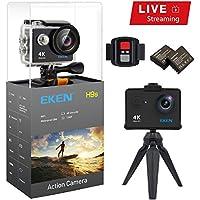 EKEN H9s Action Camera Live Streaming 4K WiFi Ultra HD...