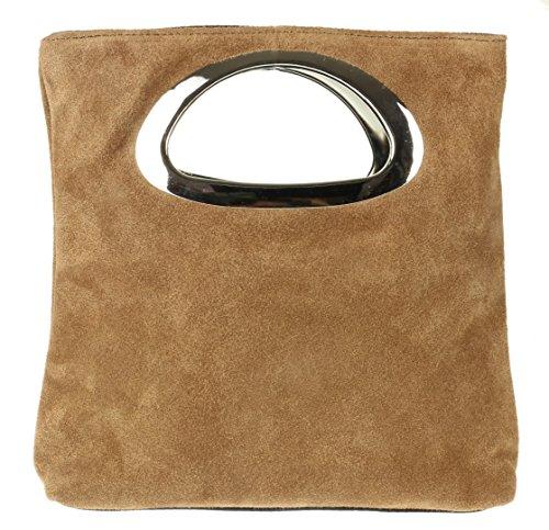 mano de Girly mujer Handbags para caqui Cartera qwttOBv