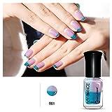 Color Changing Nail Polish,Hemlock Women Nail Polish Nail Art (A)