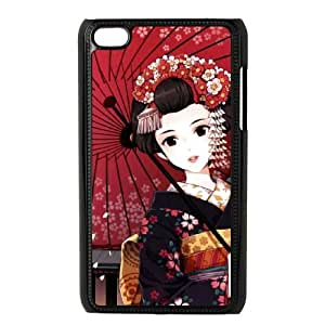 anime Geisha iPod Touch 4 Case Black SUJ8466458