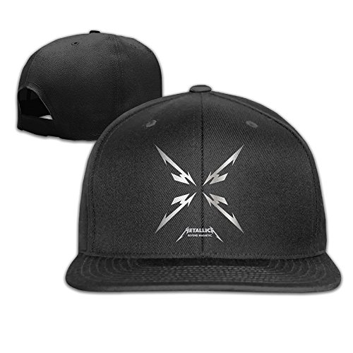 Metallica Hardwired…To Self-Destruct Flat Bill Baseball Caps Snapback Hat