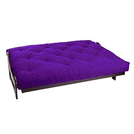 Amazon.com: magshion - sofá cama con colchón ...