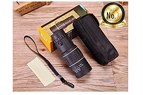 Monocular 16x52, Hunting Monocular Optics Zoom Telescope, Day & Low, Water-Resistant. For Birds Watching/ Wildlife/ Hunting/ Camping/ Hiking/ Tourism/ Armoring/ (90x Spotting Scope)