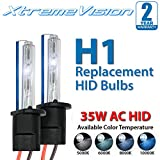 2006 audi a6 ac hid 55 watts - XtremeVision AC HID Xenon Replacement Bulbs - H1 5000K - Bright White (1 Pair) - 2 Year Warranty