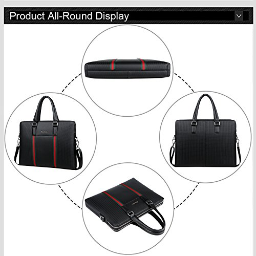 Messenger Briefcases tracolle uomo borsette Business per nere Bag Fsdwg Bag ExYwPqSOf