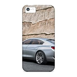 Apple Iphone 5c KjW2027GmIs Allow Personal Design Trendy Bmw Concept Cs Rear Angle Image Scratch Resistant Hard Phone Case -iphonecase88