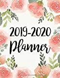 July 2019-June 2020 Academic Planner: 2019-2020 Two Year Daily Weekly Monthly Calendar Planner For To do list Planners & Academic Schedule Agenda ...   Rose Watercolor Design (2019-2020 planner)