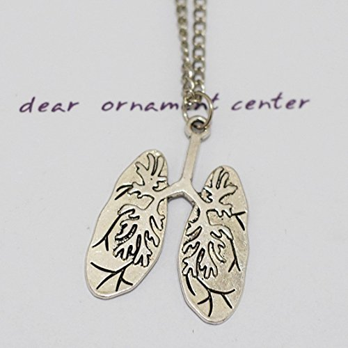Human Anatomical Lungs Necklace ()