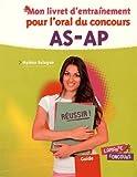 Image de Mon livret d'entraînement pour l'oral du concours AS-AP