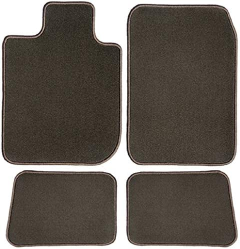 GGBAILEY D50682-S1A-CH-BR Custom Fit Car Mats for 2012, 2013, 2014, 2015, 2016, 2017, 2018 Land Range Rover Evoque Chocolate Brown Driver, Passenger & Rear Floor