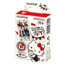 Fujifilm Instax Mini Film For Fuji Instant Camera - Hello Kitty 40th Anniversary Film, 10 Sheets/Pack (suitable for Mini 8, Mini 7S and more)