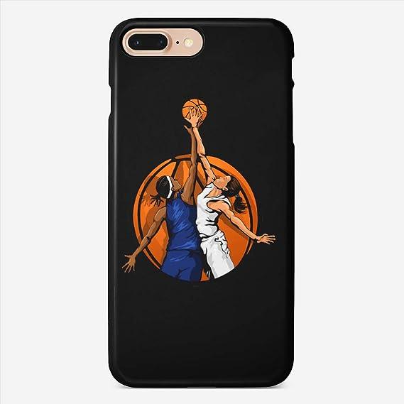 iphone 8 basket ball girl case