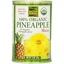 Edwards Fine Foods Native Forest Pineapple Slices Organic, 15 oz